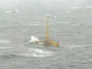 Photo of VolturnUS during a major storm event.