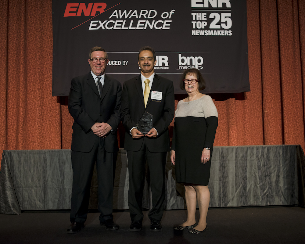 featured image for Dagher Recognized As 2016 Top 25 Newsmaker by Engineering-News Record (ENR)