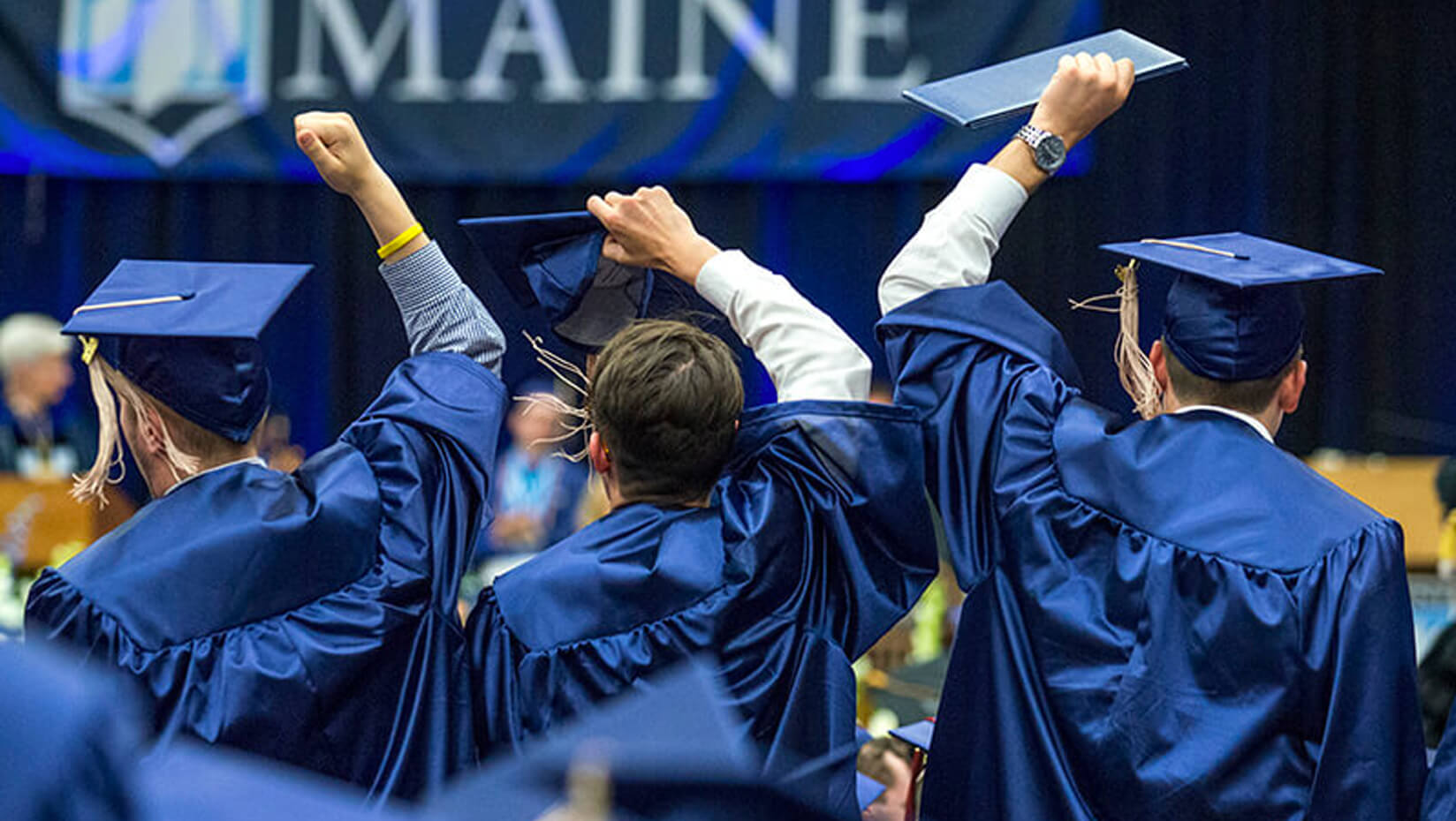 featured image for Two UMaine Composites Center Student Employees Recognized as 2017 Outstanding Graduating Student