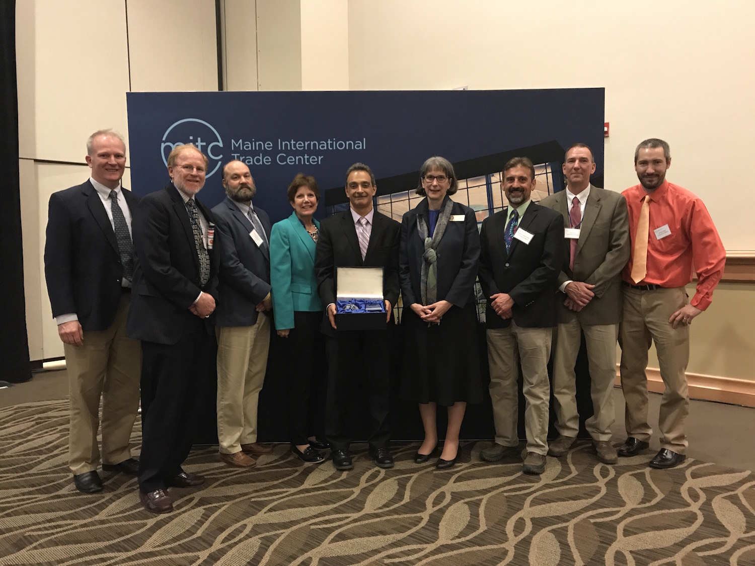 """featured image for UMaine Composites Center Recognized As """"Innovator of the Year,"""" by Maine International Trade Center"""