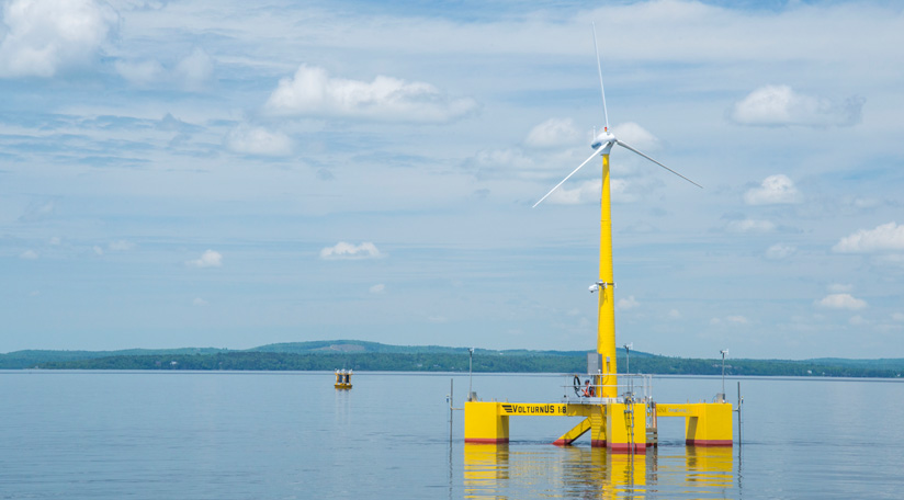 featured image for UMaine receives new DOE funding to advance VolturnUS floating offshore platform