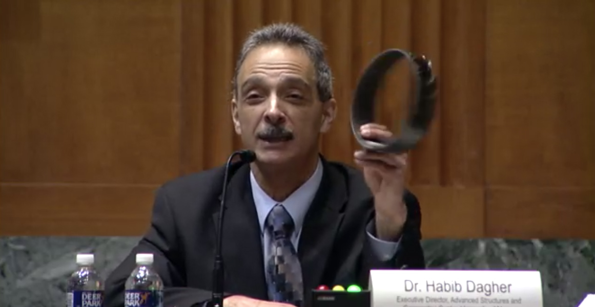 featured image for Dr. Habib Dagher Testifies before Senator Collins' Committee on Transportation Infrastructure
